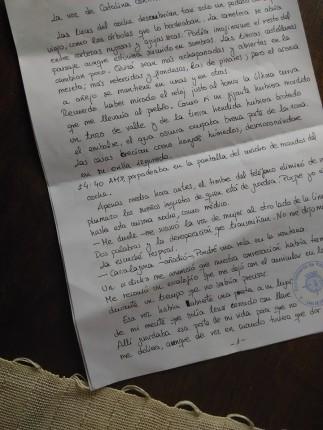 Imagen manuscrito una luz en la ventana